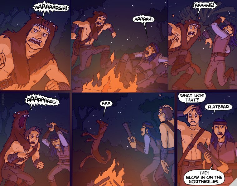 Created by Oglaf, the rest of their comics are extremely NSFW