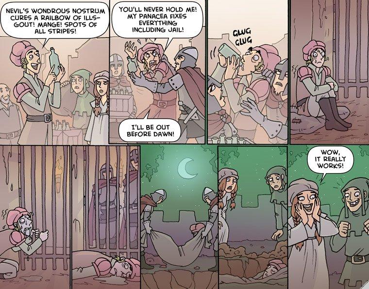 Oglaf, Quacksalver web comic