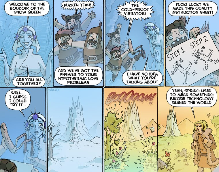 porn snow Comic queen oglaf